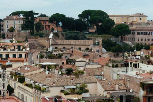 Poster Roma vista dall'alto