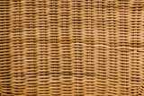 Natural cane weaved furniture texture