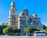 Main Orthodox Cathedral of Varna city in Bulgaria