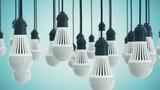 Hanging LED Light Bulbs
