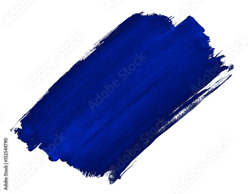 A fragment of the cobalt blue background painted with watercolors manually