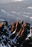 Fototapeta Nature - Slowacja 15.02.2015 Widok z Lomnicy zima na slowackie Tatry Wysokie. © Konrad