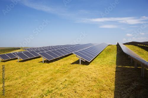 Poster Solar panels