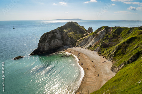Poster Lulworth Cove, Dorset