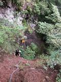 鎖場 岩登り クライマー