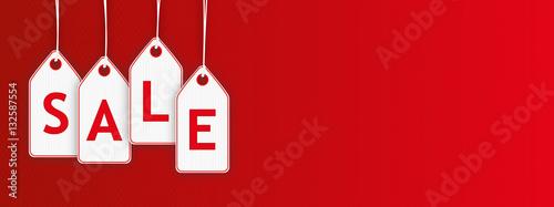 © PixlMakr - Fotolia.com Hanging Price Stickers Sale Header