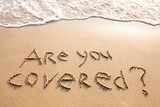 are you covered, travel insurance concept - 132618162
