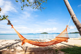 hammock on the beach in Thailand, summer holidays, relax concept - 132619731