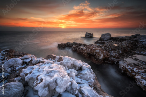 Fotografiet Icy morning /
