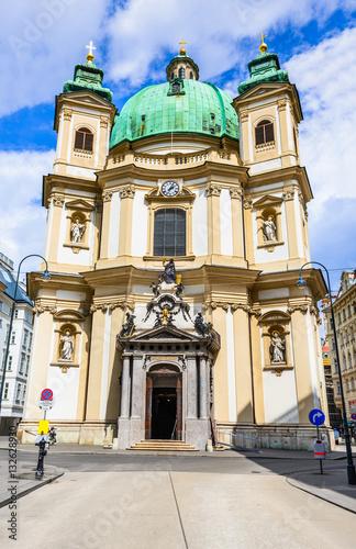 Poster Peterskirche, Vienna, Austria