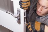 repair door lock - 132639574