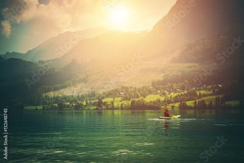 Poster Kayak Tour on the Lake