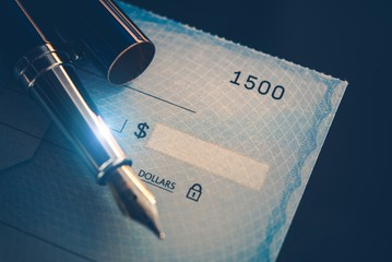Writing Check Payment