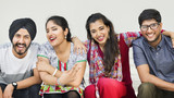 Indian Ethnicity Friendship Togetherness Concept