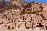Group of caves and tombs in Petra, Jordan