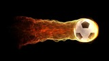 flying flame ball