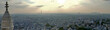 Panorama from Sacre Coeur Basilica, Paris, France