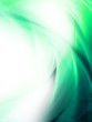 Awesome Bright Abstract Green Wave Design