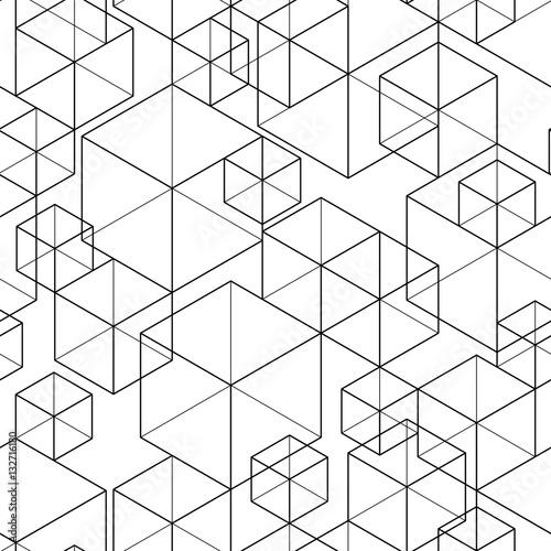 Geometric Seamless Pattern - 132716180