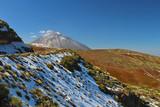 Volcán del Teide nevado, Tenerife