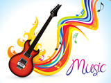 abstract artistic music background