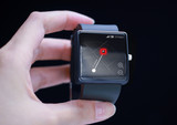 GPS application with smartwatch.