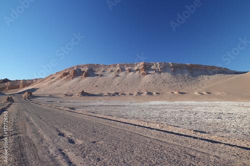 Poster Wege der Atacama Wüste