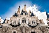 Cinderellas Castle In Reverse