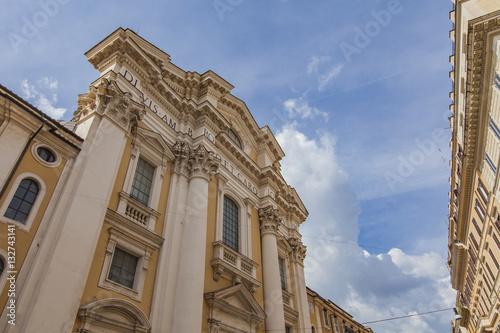 Poster San Carlo al Corso church in Rome