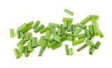 Cut chives isolated - 132753793