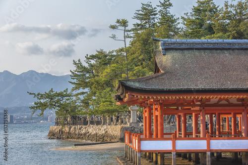 Poster sanctuaire  d'Itsukushima - Japon