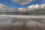 Low Tide Blakeney Point Norfolk UK Winter