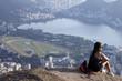 Quadro View of two brother mountain, Rio de Janeiro