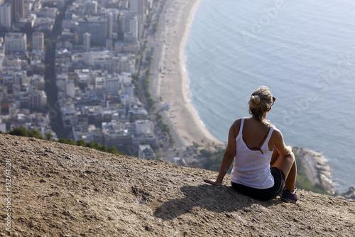 Plakát View of two brother mountain, Rio de Janeiro