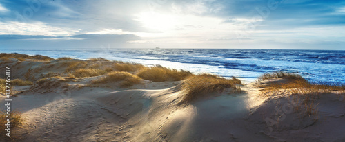 Papiers peints La Mer du Nord Dänische Nordseeküste