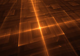 abstract orange techo light background - 132796104