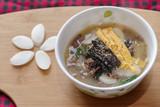 traditional Korean dish Tteokguk