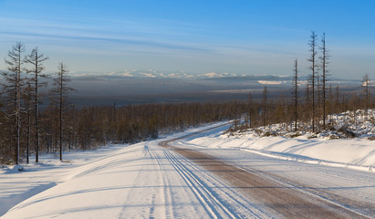 winter road in South Yakutia © asb63