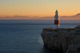 Gibraltar Lighthouse at Sunset - 132825988