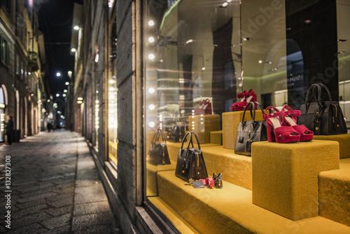 milan shopping district