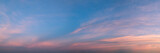 Vibrant panoramic sky on twilight time. - 132839573