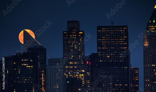 Foto op Aluminium New York New York at Night