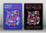 Disco Party Posters