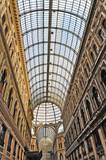 Napoli, la Galleria Umberto I