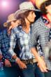 Country dance school girls