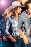 Country dance school girls - 132925703