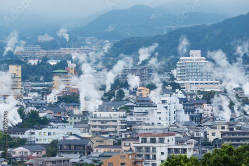 Foto op Plexiglas Japan Beppu city