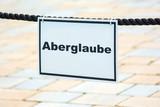 Schild 119 - Aberglaube