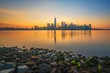 Sunrise from Liberty State Park New Jersey