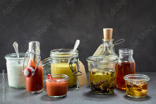 Dips and marinades in all kinds of flavors